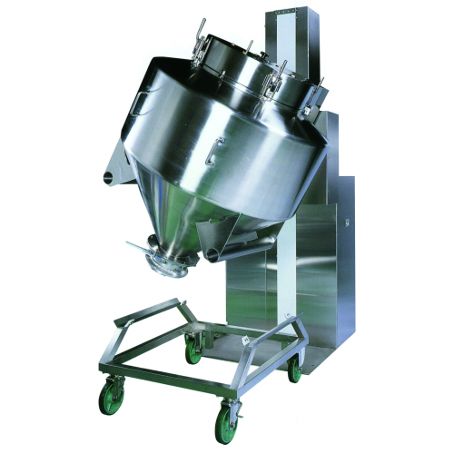 Bead Material Blender ~ Bohle container mixer closed bin rotary blender fst